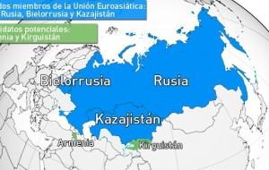 Alternativa a la UE: Rusia, Bielorrusia y Kazajistán fundan la Unión Euroasiática.